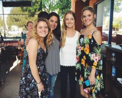 Nikki, Shaina, and Hannah